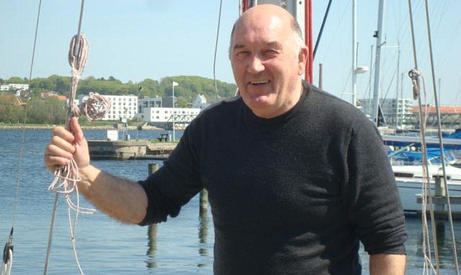 Niels Mathiesen vil have sejlsporten frem i lyset igen. Foto: Mathis Værft