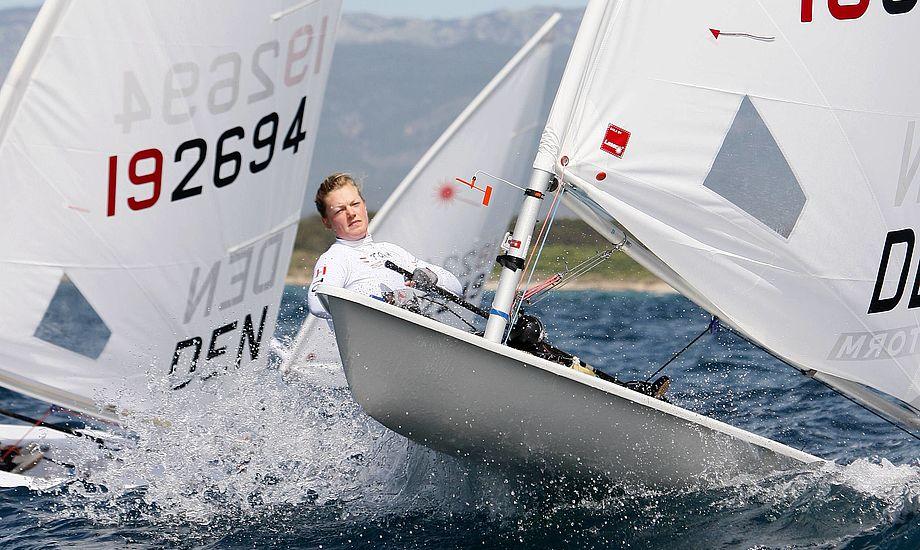 Her Maiken Schütt til Princess Sofia Trophy i 2011. Foto: Mick Anderson/ mickanderson.dk for Dansk Sejlunion