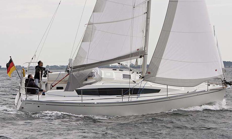 Delphia 31 var i år nomineret til Årets Båd i Europa. PR-foto
