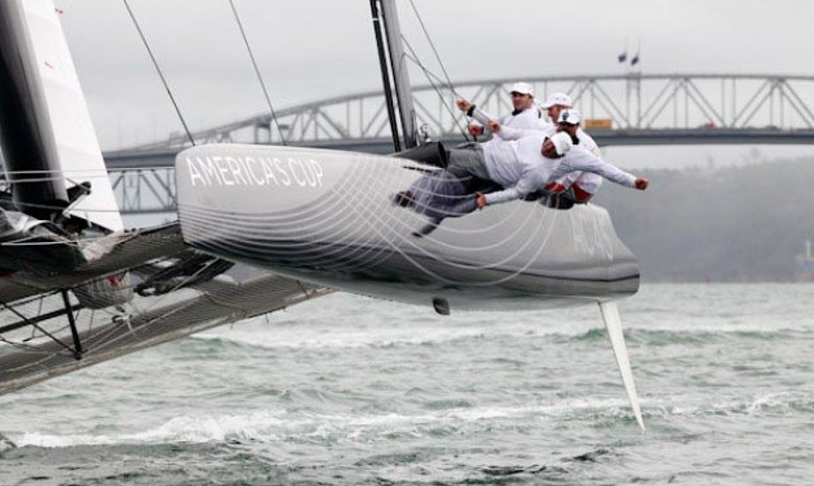 Americas Cup World Serie starter i Cascais i Portugal til august. Foto: americascup.com