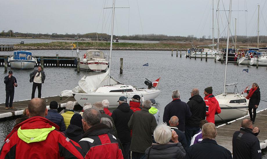 H-både er sikre kort til sejlklubberne, fx i Aalborg. De vælter ikke bare lige fordi det blæser 8 m/sek. Foto: Ricky Hansen