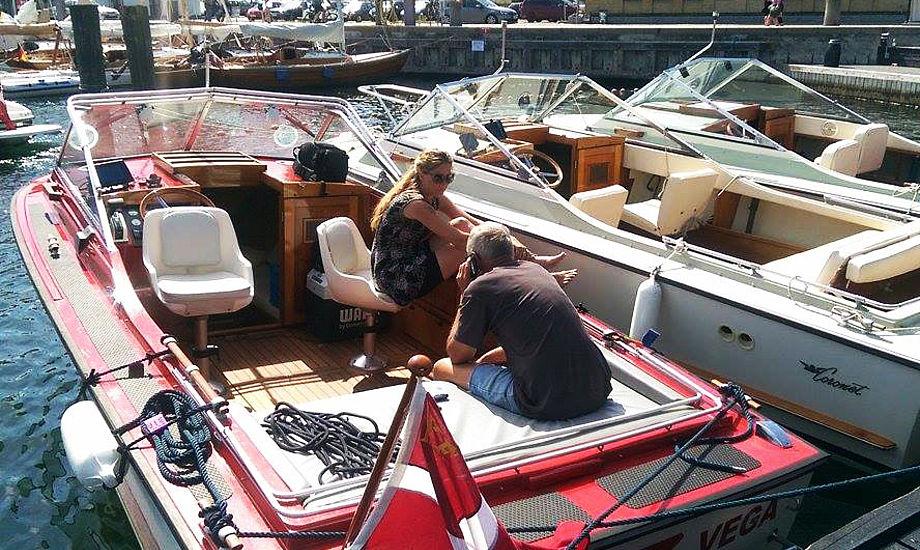 Billedet er fra træf i 2015 af Coronet-båd. Foto: Troels Lykke