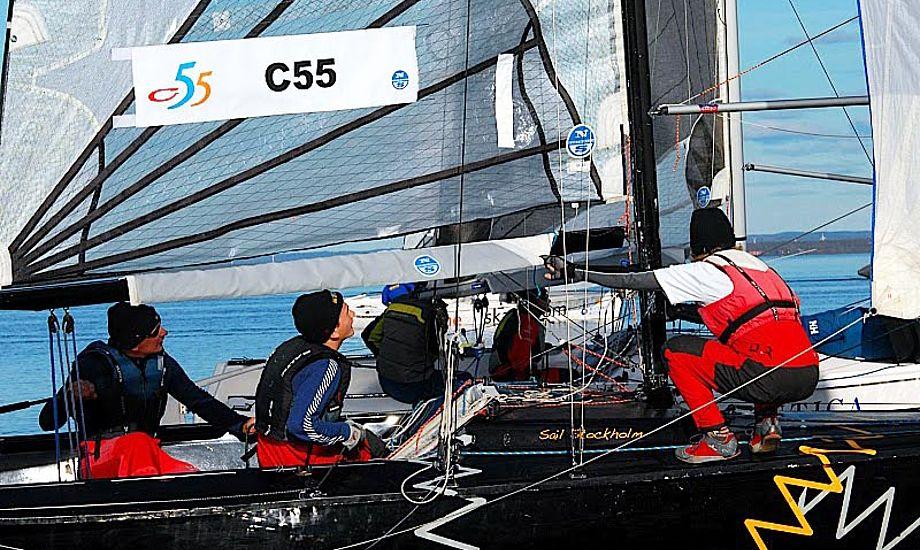 C55 vinderne i en CB66.