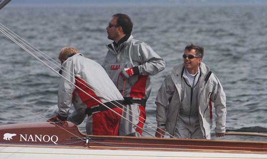 Drage-sejleren kronprins Frederik får en aktiv rolle på ISAFs årsmøde, hvor der også vælges årets sejlere. Foto: Troels Lykke
