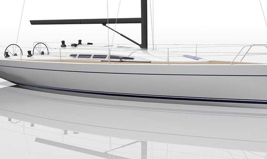 Den første Dehler 41 ventes søsat i løbet af 2011.