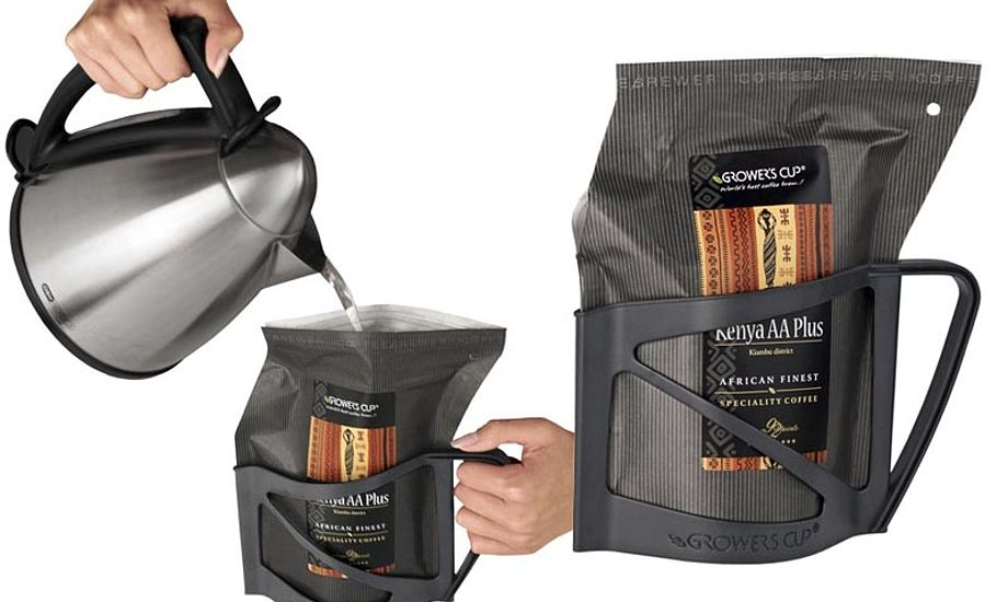 Det tager 5 min. at brygge en halv liter kaffe. Fotos: growerscup.com