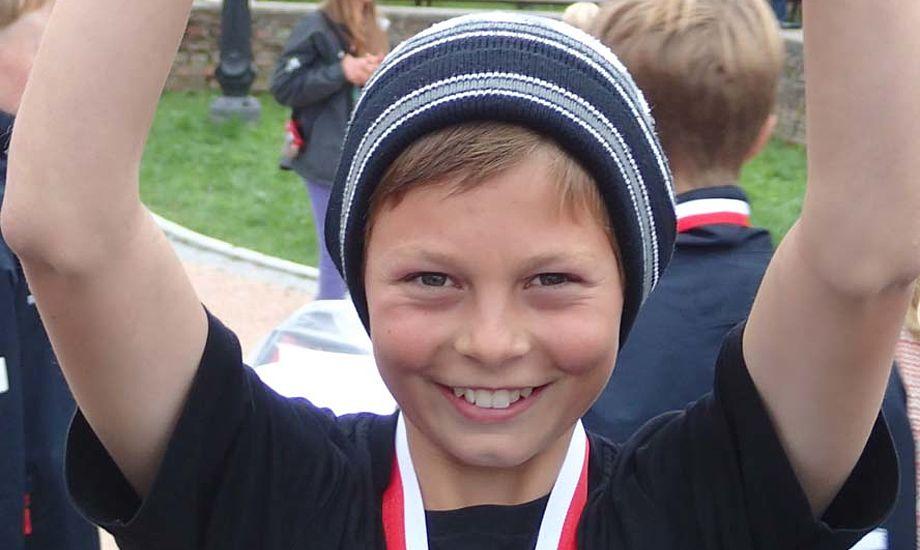 I sommer blev Oliver Ørting nordisk mester ved et stort stævne i Sverige.