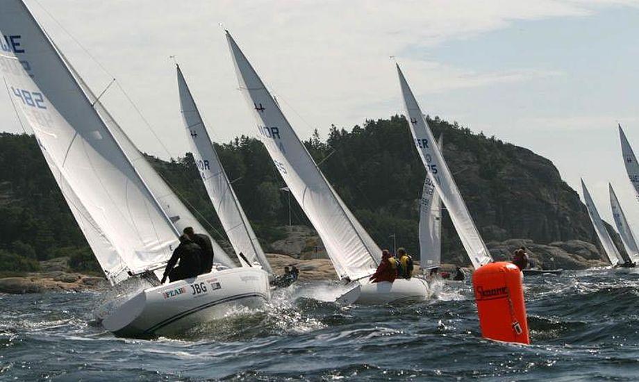 Arkivfoto fra sidste års VM i Larvik, Norge, der blev vundet af Steffen Stegger fra Danmark. Foto: h-boat-class.org
