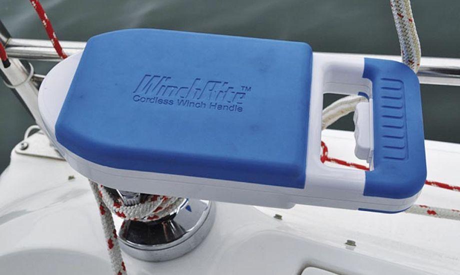 WinchRite har genopladeligt, vandtæt batteri.
