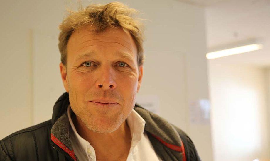 Mikkel Beha var i Fredericia og fortalte at han også har en CB 66er i Hellerup med sine sønner. Foto: Troels Lykke