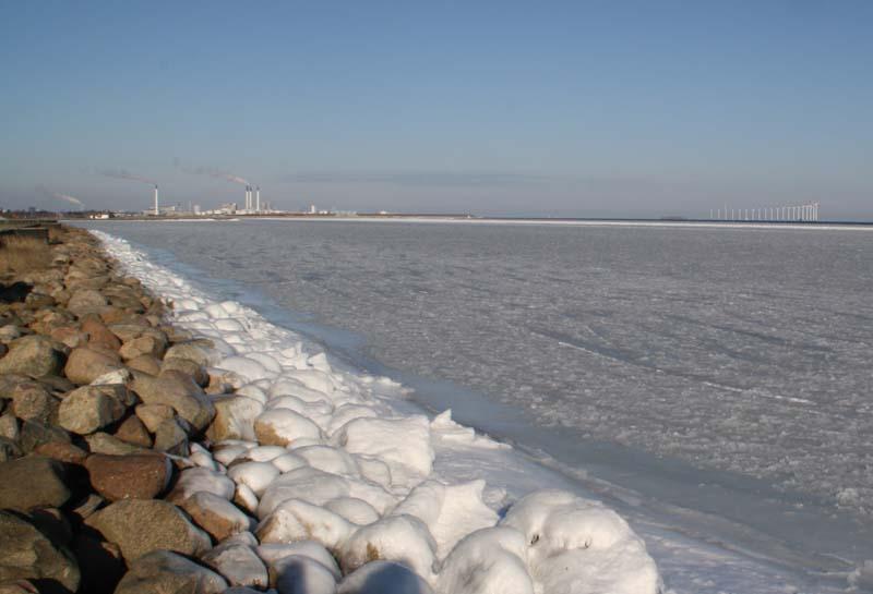Kastrup havn, februar 2012. Foto: Hans Andersen