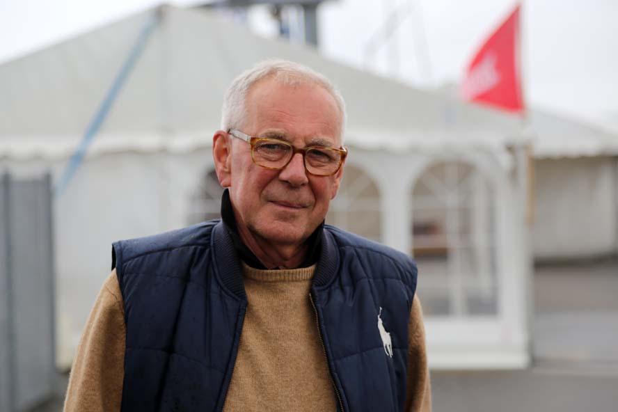 Finn Mortensen fra Kolding Sejlklub er klar til at holde udstilling igen, ikke mindst hvis Danboat støtter op. Foto: Troels Lykke