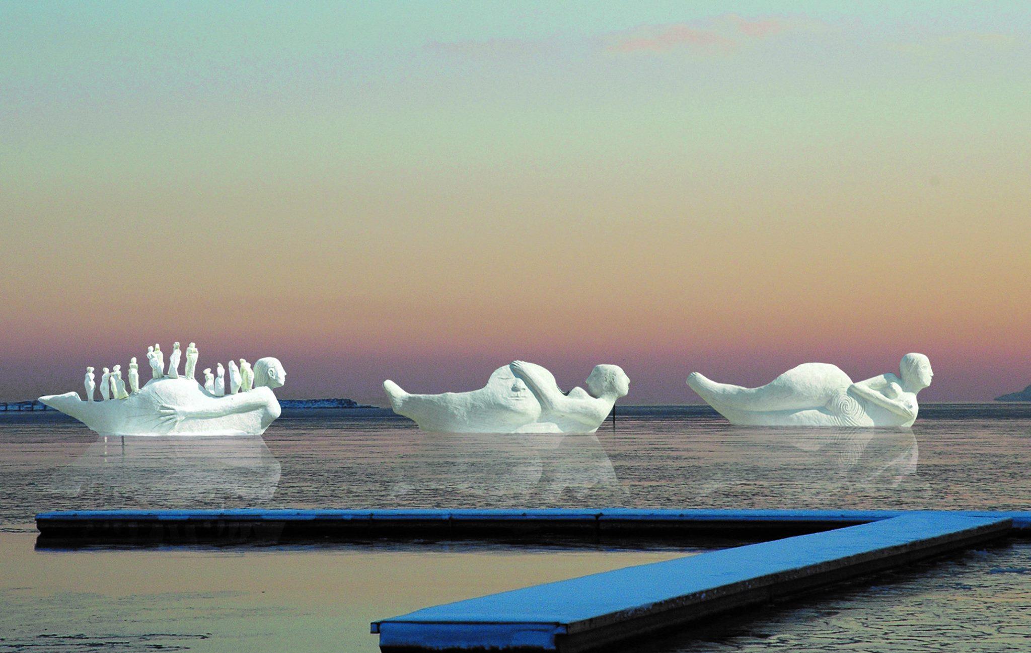 Mere end 50.000 gæster har allerede besøgt de flotte Life-Boats i Limfjorden. PR-foto