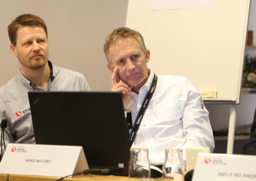 Mads Kolte-Olsen og Hans Natorp i Odense. Foto: Troels Lykke