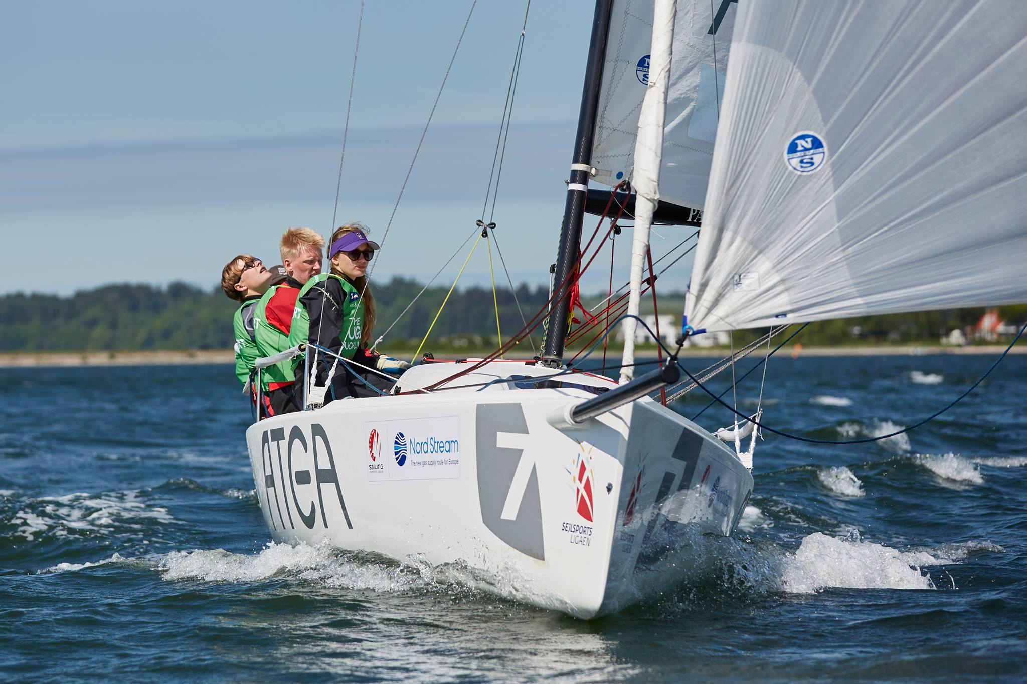 Oures 2. divisions team. Foto: Frederik Sivertsen