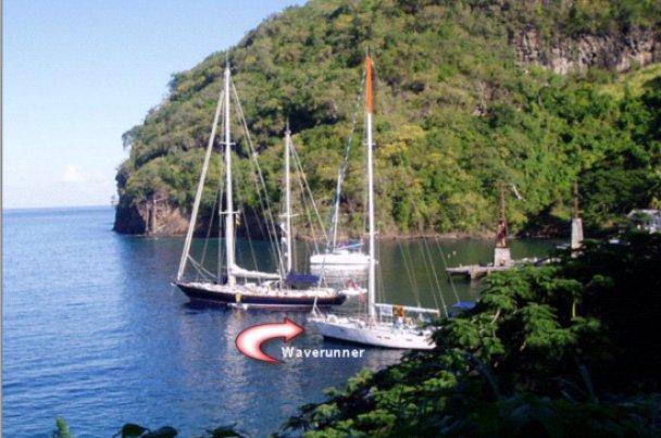 Waverunner mens det hele var roligere til søs. Foto: Waverunner.dk