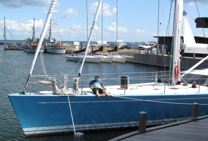 Swan 82 i Tuborg Havn