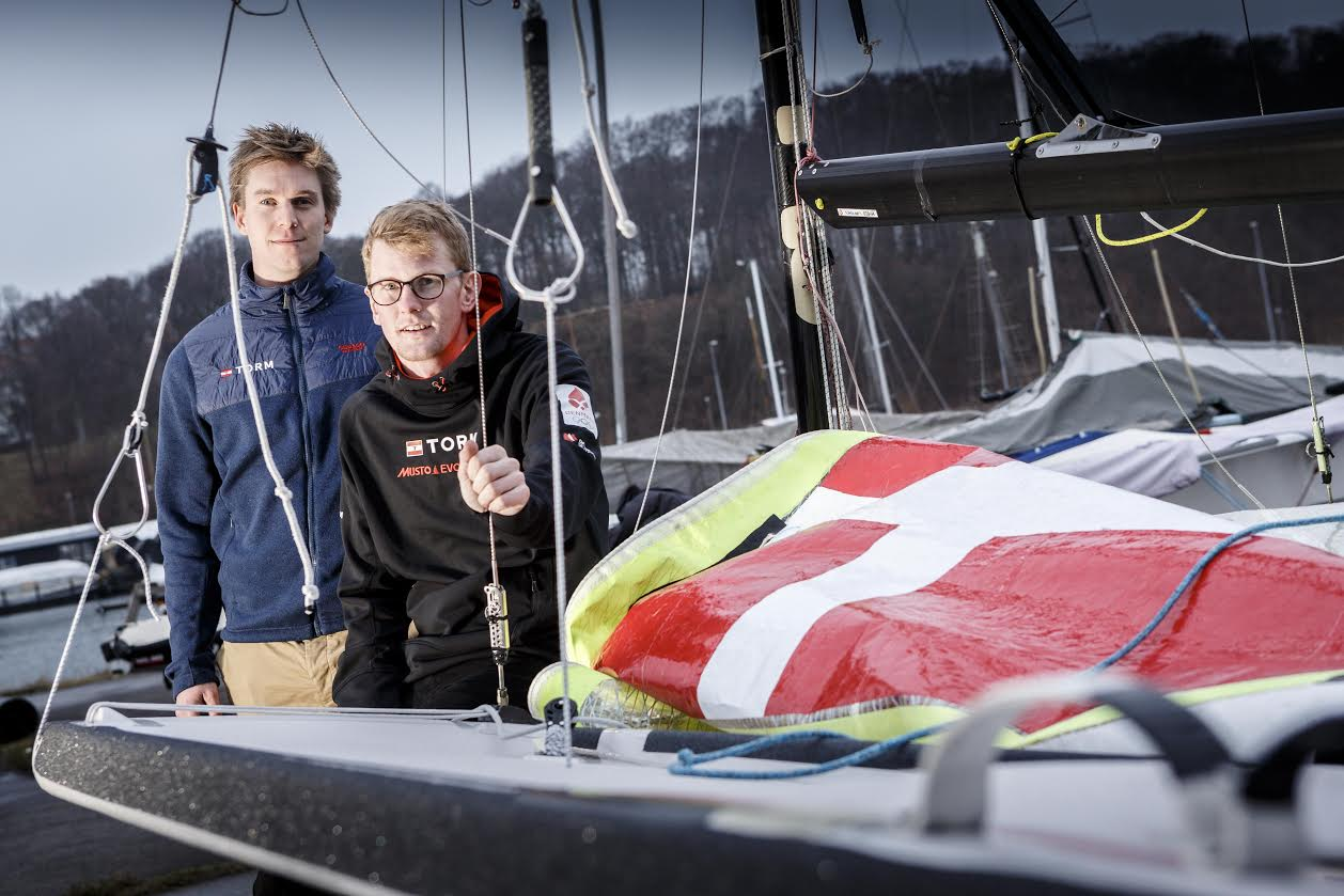 Michael Hansen skifter Laseren ud med 49eren, hvor han sammen med Mathias Sletten vil satse stort. Foto: Mick Anderson
