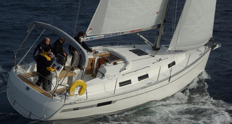 Se den nye Bavaria 32 i Helsingør i weekenden. Foto: Troels Lykke