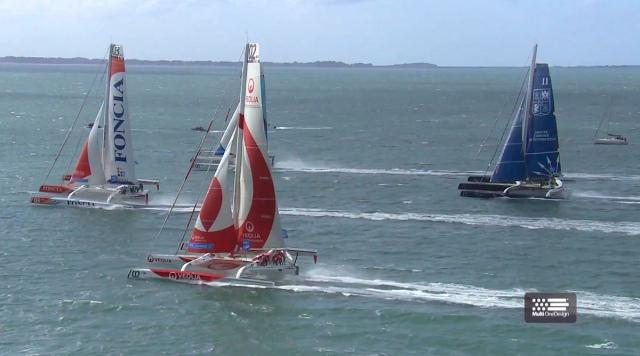 MOD 70 klassen leverer mere action end Volvo Ocean Race