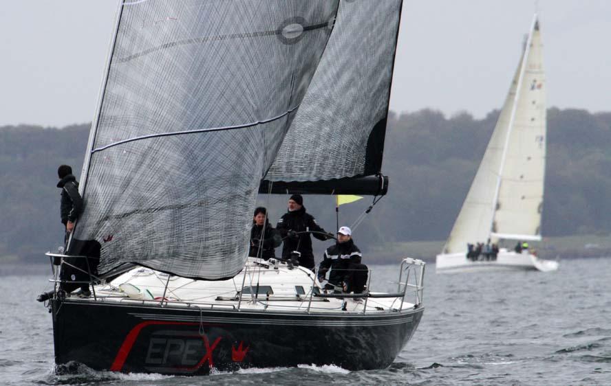 Det kunne give liv i klubberne ved man fx fik en IMX 40, der vandt Big Boat-serien i år. Foto: Troels Lykke
