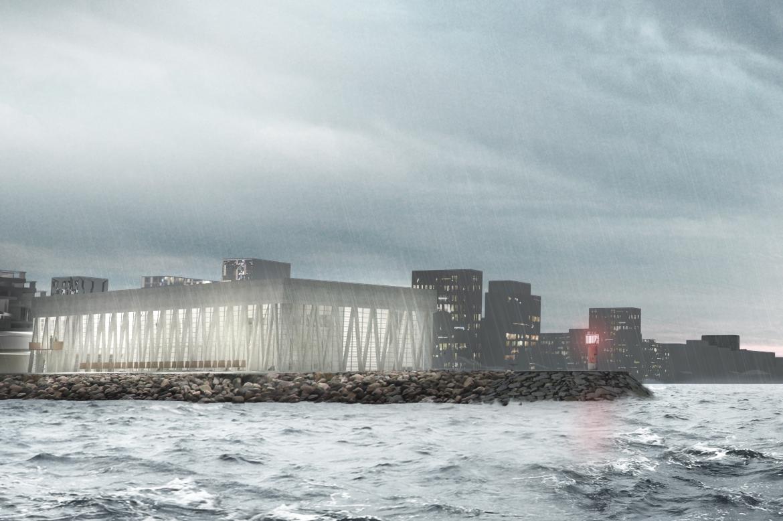 I marts 2012 modtog Fonden Aarhus Internationale Sejlsportscenter en donation fra A.P. Møller og Hustru Chastine Mc-Kinney Møllers Fond til almene Formaal til at afholde en projektkonkurrence.