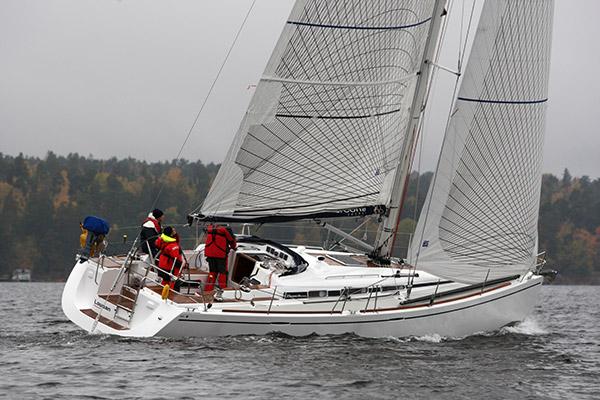 Arcona 430 kan ses i Hundige havn 27. og 28. august.