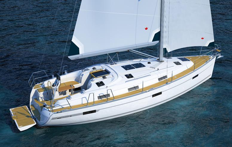 Bavaria 36 Cruiser vises frem til august.