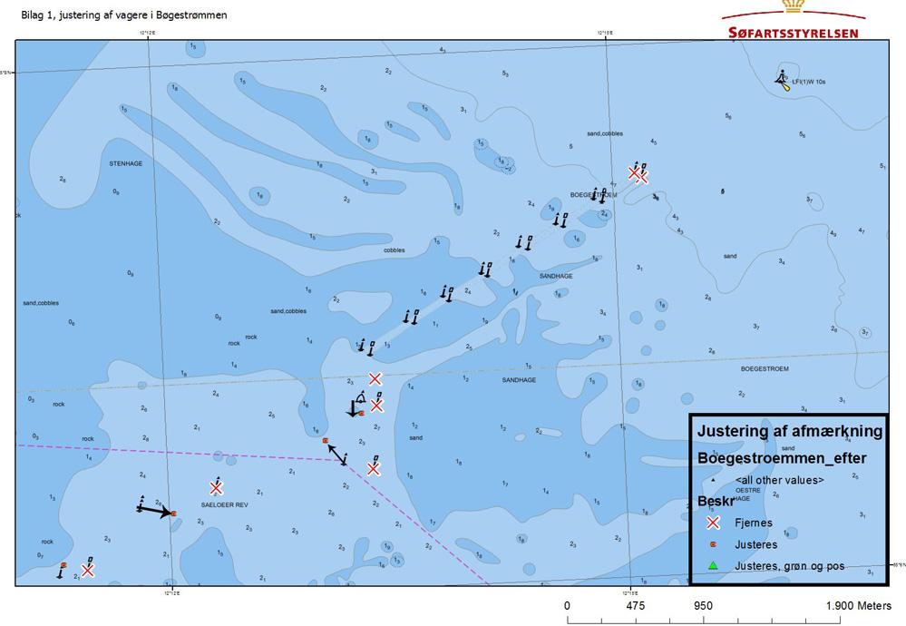 Sådan så Bøgestrømmen ud i juni 2014. Nu er det igen tid til opdatering af ens søkort.