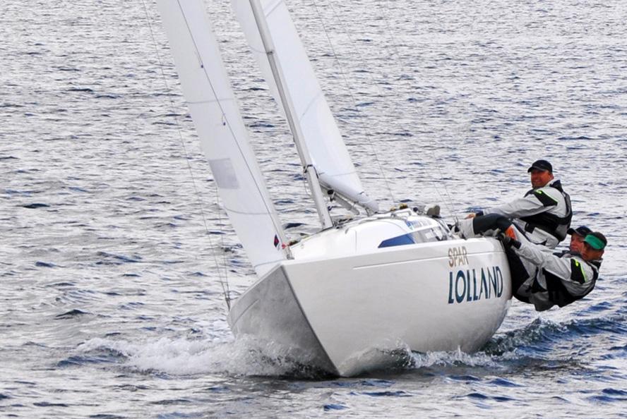 Claus Høj Jensen kom aldrig til OL, men han er verdensmester i Yngling, Drage og H-båd.