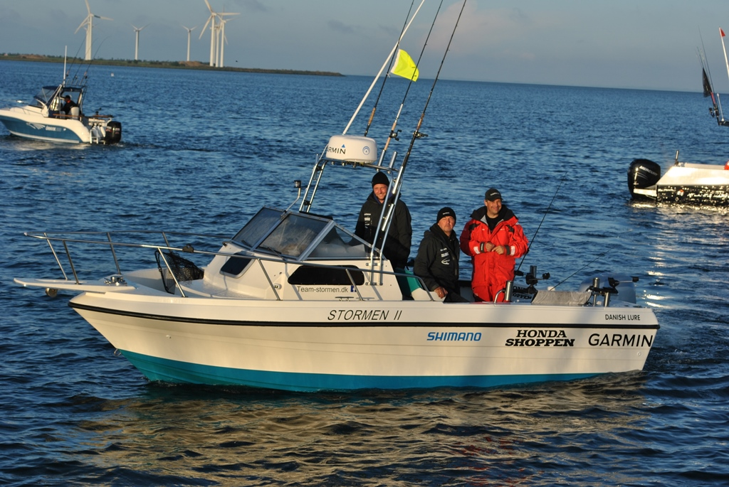 Vinderbåden Team Storm II. Foto: Peter Dan Petersen.