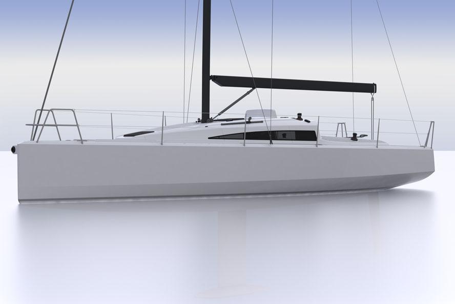 Evosion 35 kommer kun til at veje 2,8 ton, siger Lars From.