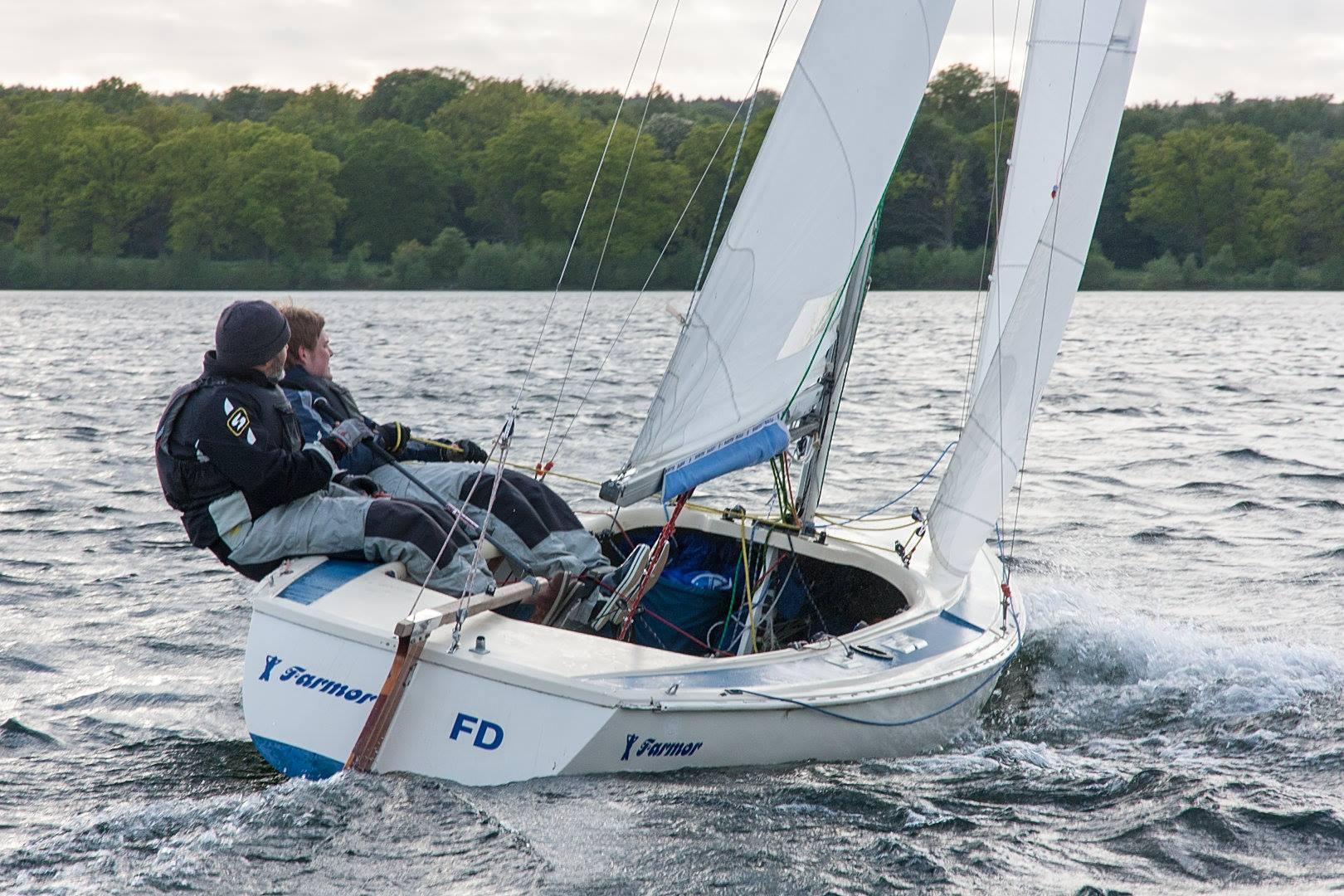 I alt 11 både mødte frem til en fantastisk weekend, det både vejr og vindmæssigt.