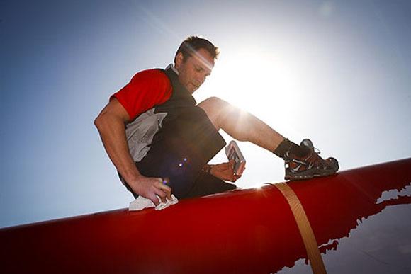 Jes Gram-Hansen på billedet arbejder på at skaffe et fuldtidsprof-projekt med en Extreme 40. Foto: Mick Anderson / Sailingpix.dk