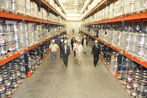 Med en produktion på 10,5 millioner liter om året, vil den 17 millioner dollar dyre fabrik beskæftige 30 personer ved udgangen af 2012.