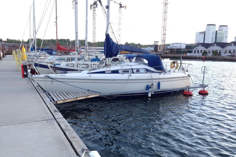 Lej blandt andet denne Maxi Fenix til sommerturen. Foto: Bådudlejning Danmark