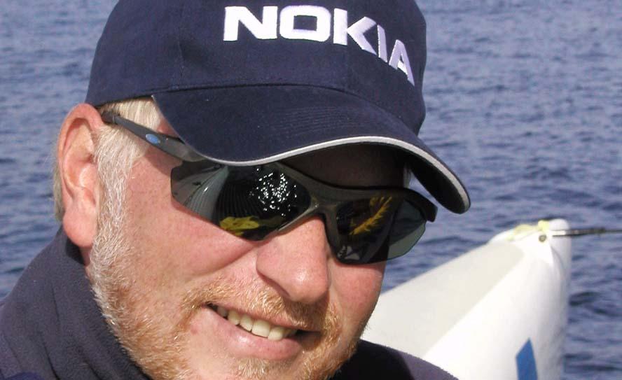 Morten Lorenzen brænder for sejlsporten og har tilført en masse store stævner til Danmark. Nu åbner han munden hver uge på minbaad.dk. Foto: Troels Lykke