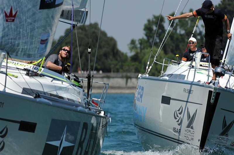 Match Race Germany sejles i den lækre Bavaria 40 Sport. Foto: Felix Kästle/MRG