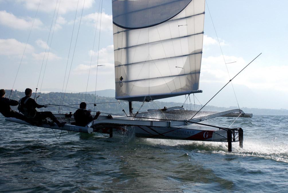 Her ses P28 sponsoreret af Gonet & Cie Foto: Philippe Schiller / myimage.ch