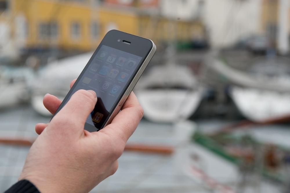 App'en skal forhindre ulykker til søs. Foto: Arkivfoto