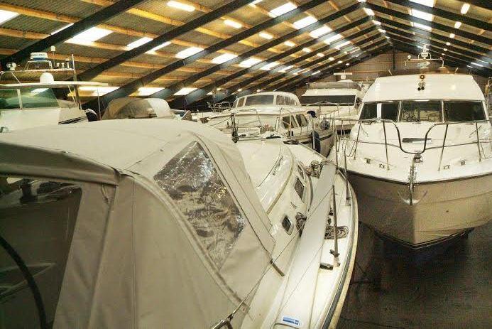 Palby Marine kommer her med produkter samt miniguide til rengøring af kalechen. Foto: Arkivfoto
