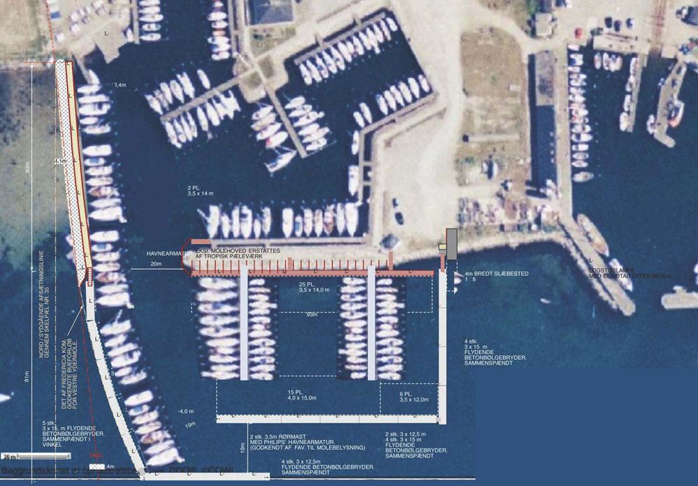 Behovet for flere og større bådpladser samt gæstepladser, har længe betydet lange ventelister i Skærbæk.