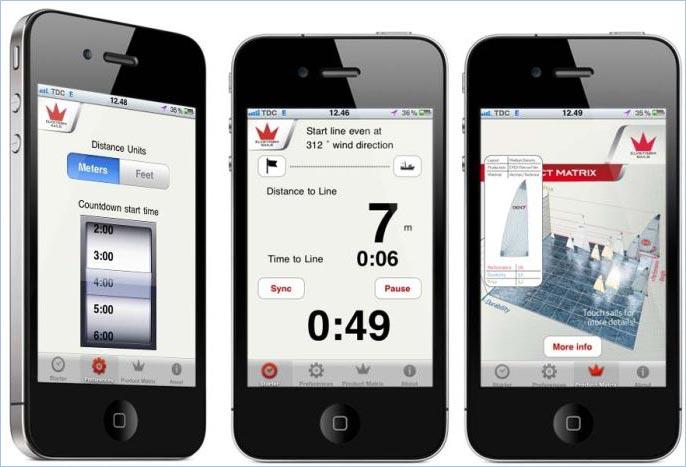 Elvstrøm starter skal kun bruge få informationer, for at beregne en optimal start. Foto: http://elvstromsails.com