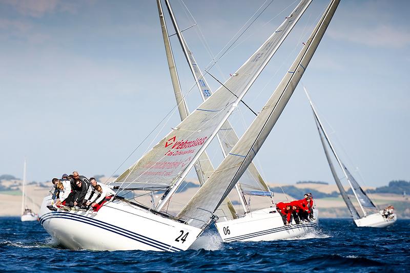 X-35eren er blandt de mindste både, der produceres hos X-Yachts. Foto: Mick Anderson/Sailingpix