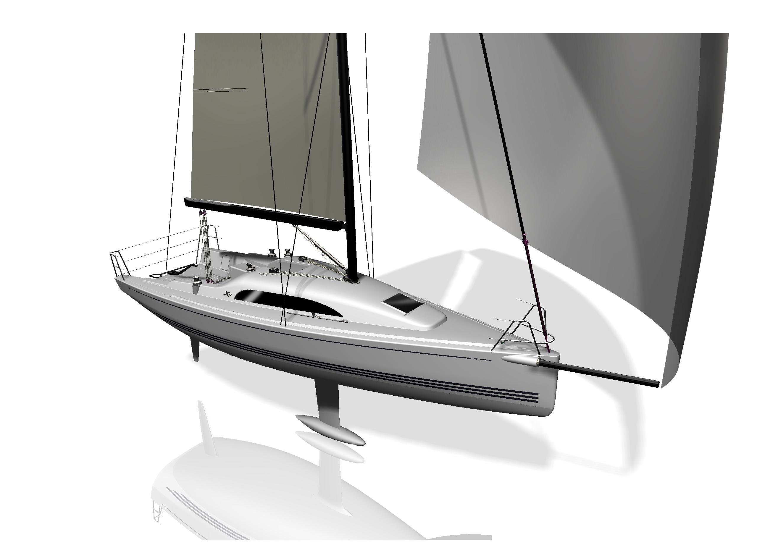 Den nye XP 33 får verdenspremiere på bådudstillingen i Paris i december, præsenteres herefter i Düsseldorf i januar og i Fredericia i februar-marts.