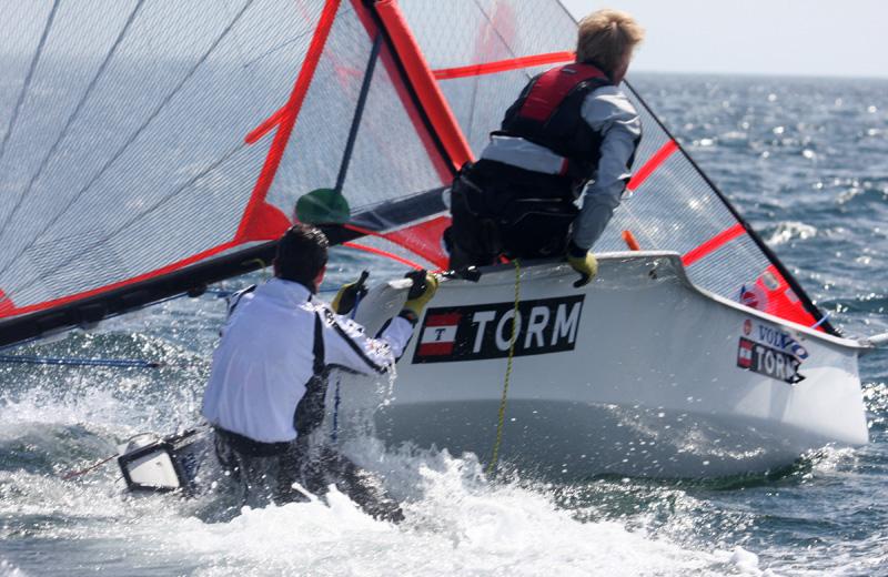 Juniorlederen skal tage sig af jolle- og kølbåds-sejlere. Foto: Troels Lykke