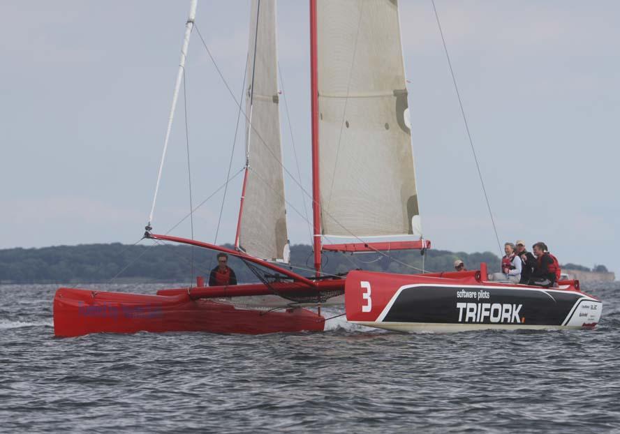 Extreme Challenger på VIP-tur under Big Boat i Kerteminde. Foto: Troels Lykke