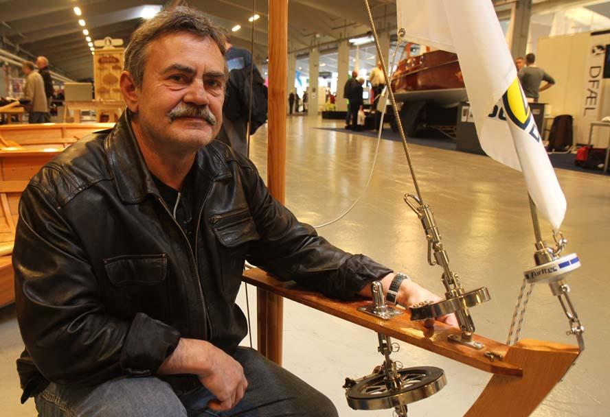 Fynboen og Ylva-sejleren Karsten Andersen er slået igennem med sine furling-produkter. Foto: Troels Lykke