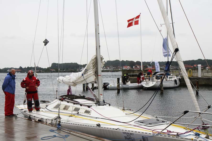Der meldes dog ikke om ledige pladser i Svendborg Amatør Sejlklubs havn, hvor der lige nu sejles SøvRoret. Foto: Troels Lykke