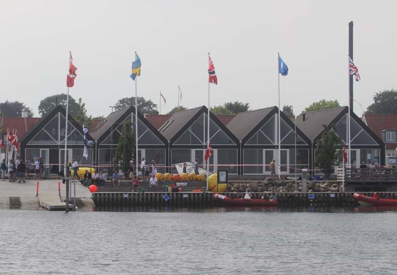 Det nye klubhus i Kerteminde kostede 5,9 mil. kroner. Foto: Troels Lykke